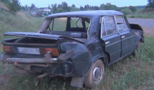 В Удмуртии в перевернувшемся авто погибли люди