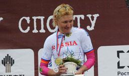 Спортсменка из Удмуртии победила на чемпионате России по шоссейной велогонке