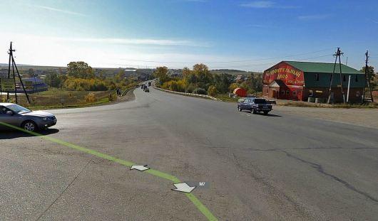 Chevrolet Niva сбила велосипедиста на въезде в Ижевск
