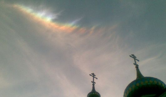 Верующие Ижевска рассказывают о чудесном знамении в канун праздника Троицы