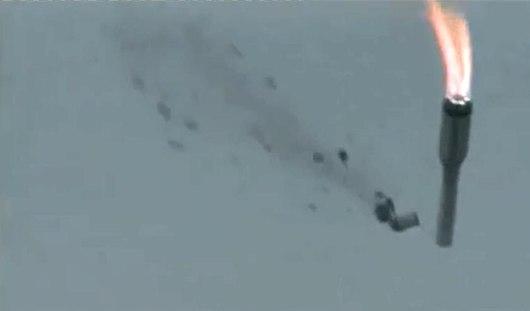 В Казахстане ракета с 3 спутниками Глонасс упала на первой минуте старта