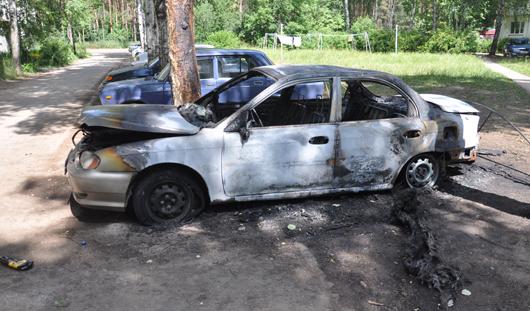 Поджигателем машин в Ижевске оказался угонщик детского велосипеда