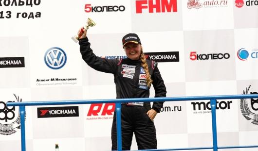 Автогонщица из Удмуртии завоевала два призовых места