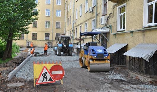В Ижевске начались ремонты дворов