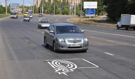 Фотофакт: разметку «фотовидеофиксация» рисуют на дорогах Ижевска
