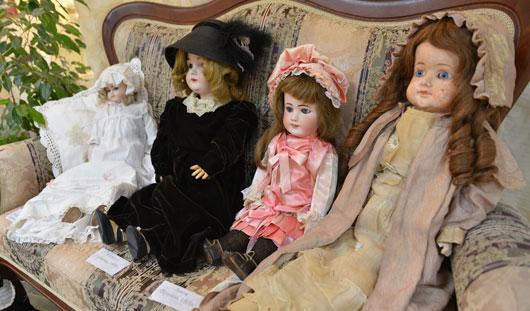 Выставка фарфоровых кукол 19-20 веков открылась в Ижевске
