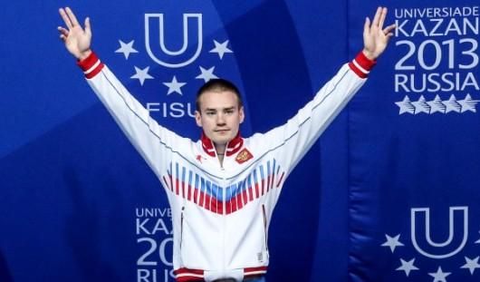 Сборная России в первый день Универсиады завоевала 17 наград