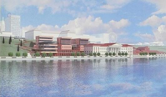 На набережной Ижевского пруда появятся кафе на 200 мест и бизнес-центр