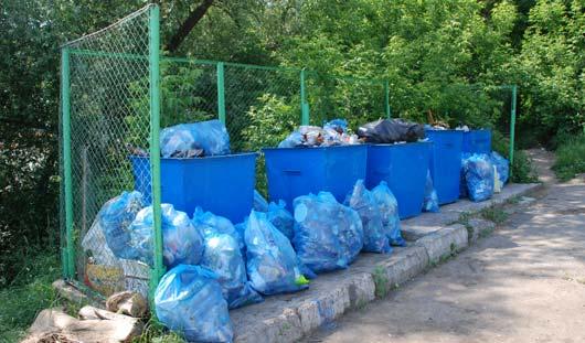 Как часто вывозят мусор с улиц Ижевска?