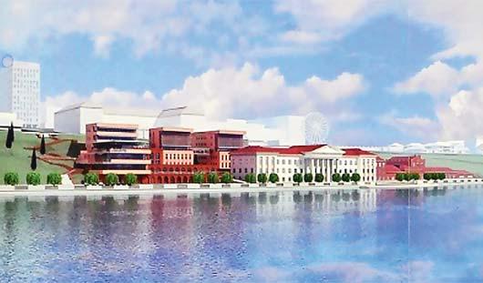 С видом на пруд: на набережной в Ижевске появятся кафе на 200 мест и бизнес-центр