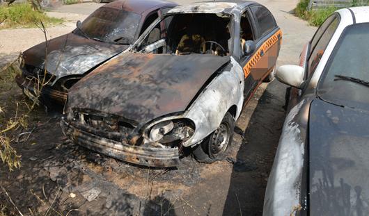 Новая волна автопожаров в Ижевске: за одну ночь сгорело 4 машины