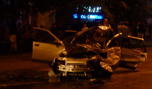Страшное ДТП в центре Ижевска: водитель «тойоты» помещен в изолятор