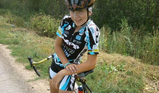 Велосипедистка из Удмуртии заняла 3 место на Олимпийском фестивале