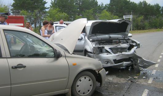 В Удмуртии в ДТП жительница Красноярска  получила травму позвоночника