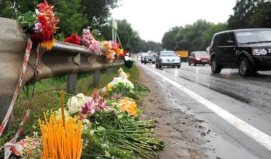 Российские дороги очистят от крестов и венков?