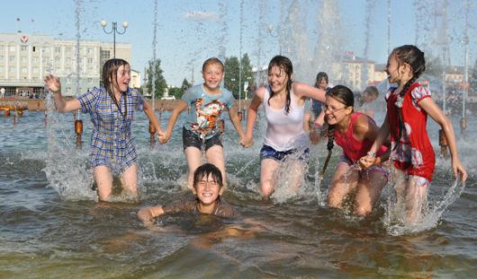 25-градусное тепло продержится в Ижевске всю неделю