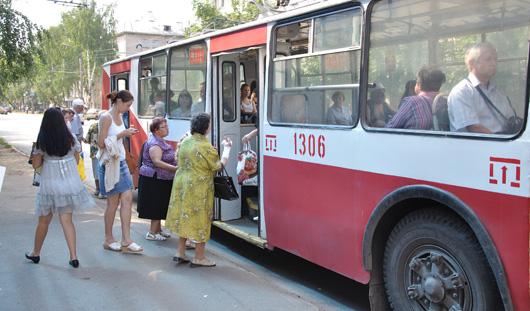 В городке Строителей в Ижевске временно не ходят троллейбусы