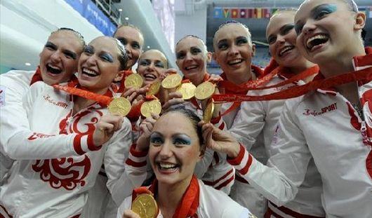 Российские синхронистки взяли «золото» на чемпионате мира по водным видам спорта