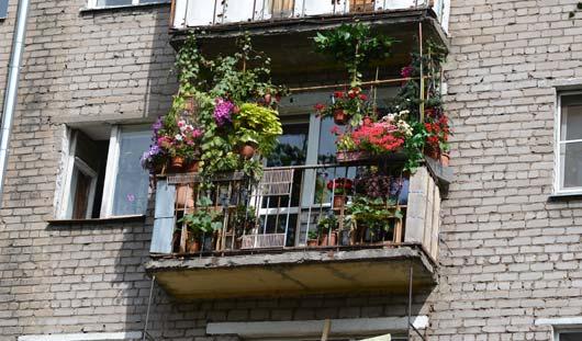 5 самых цветущих балконов Ижевска
