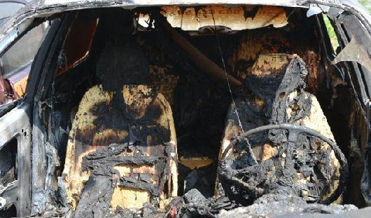 Владелец сгоревшего в Ижевске «лексуса» готов заплатить за поимку поджигателя