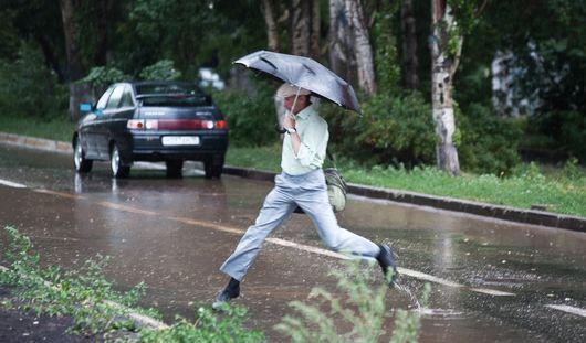 Ближайшие выходные в Ижевске будут дождливыми