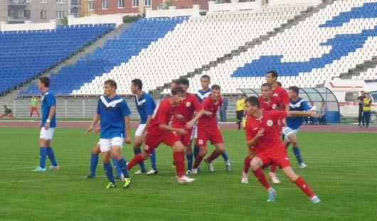 Ижевские футболисты выиграли пермский «Октан» со счётом 1:0