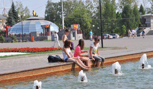 В выходные в Ижевске ожидается до 27 градусов тепла