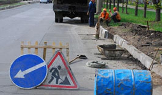 В Ижевске водитель «девятки» сбил дорожного рабочего