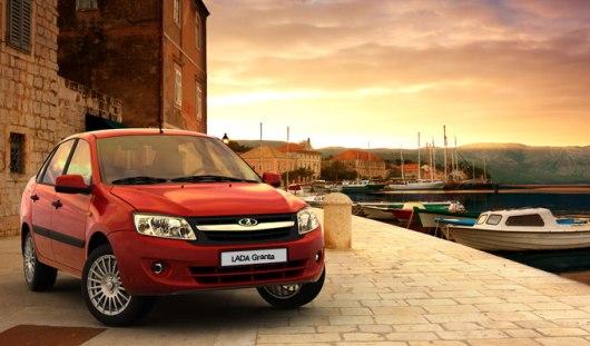 «АвтоВАЗ» начал поставки Lada Granta в Европу
