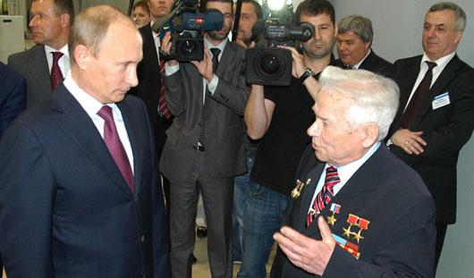 В Ижевске на презентацию концерна «Калашников» ждут Владимира Путина