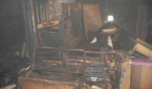 В Ижевске мебельный склад в Смирново подожгли, чтобы скрыть убийство