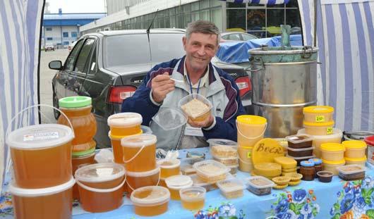 В Ижевске открылись ярмарки меда
