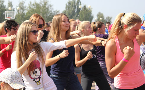 Более сотни ижевчан боксировали на первом фестивале спорта и фитнеса