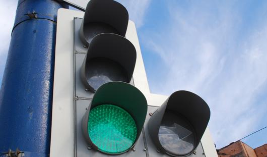 На перекрестке Удмуртская-10 лет Октября в Ижевске отключили светофор