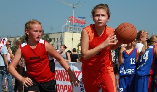 В Ижевске прошли соревнования по уличному баскетболу «Оранжевый мяч»
