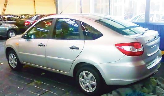 В интернет попали «шпионские» снимки нового авто из Ижевска