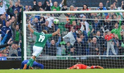 Россия проиграла Северной Ирландии в отборочном матче ЧМ-2014