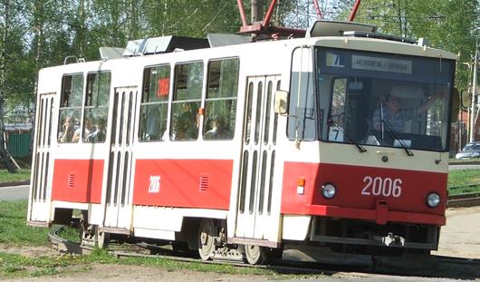 Движение трамваев на Буммаш в Ижевске закрывают