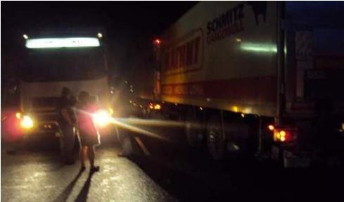 В Удмуртии грузовик насмерть сбил пешехода
