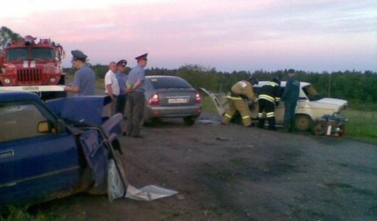 Два человека погибли в ДТП в Увинском районе Удмуртии