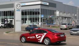 Mazda показала в Ижевске новый мотор