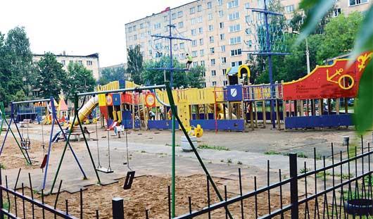 Детскую площадку от Натальи Водяновой оставят Ижевску и отремонтируют