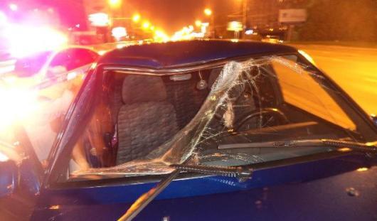 В Ижевске ВАЗ-21099 сбил пешехода на Удмуртской