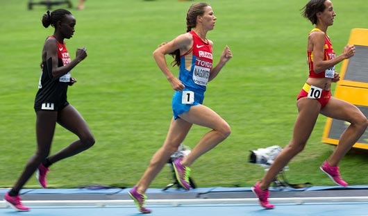 Удмуртская спортсменка вошла в десятку лучших бегуний мира на своей дистанции