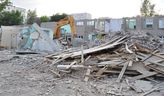 Что будет на месте снесенного детского сада на Ворошилова в Ижевске?