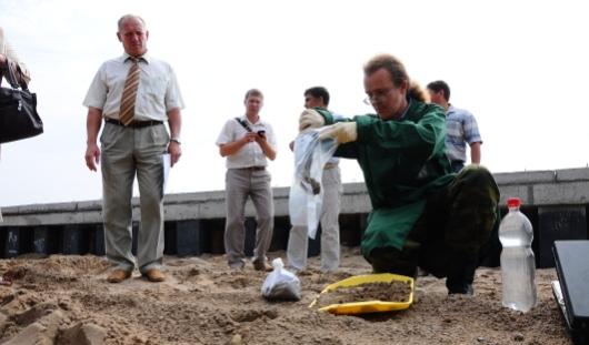 Стали известны результаты повторного анализа проб грунта с набережной Ижевского пруда