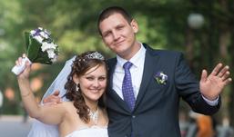 Ижевские молодожены: Сыну Кириллу в ноябре уже будет 7, наконец-то Алексей надумал жениться