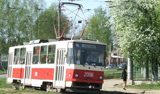 До городка Металлургов в Ижевске временно не ходят трамваи