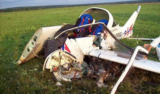 Пилот разбившегося под Ижевском самолета: Меня поздравили со вторым днем рождения