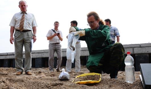 Грунт для строительства набережной в Ижевске признали безопасным
